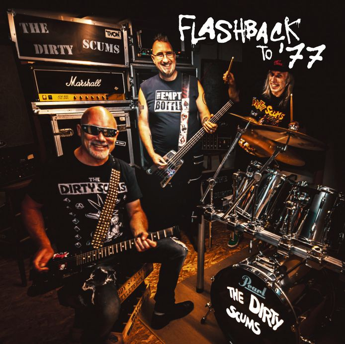 The Dirty Scums, de oudste punkrockband van het land, heeft zijn 14de studioplaat uit.