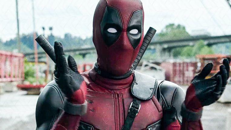 Ryan Reynolds in Deadpool van Tim Miller. Beeld