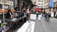Radio Scorpio installeert zich tegenover Radiohuis MNM