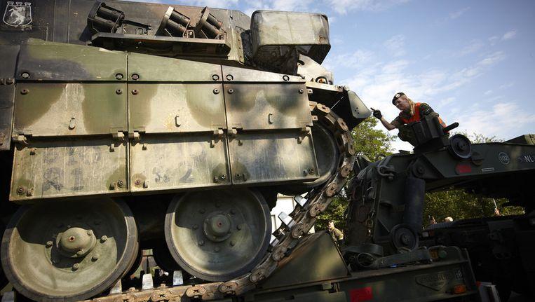 Afscheid van de Leopard tank. ©ANP Beeld