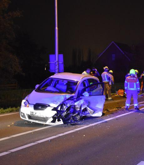 Gewonde bij ongeluk op N209