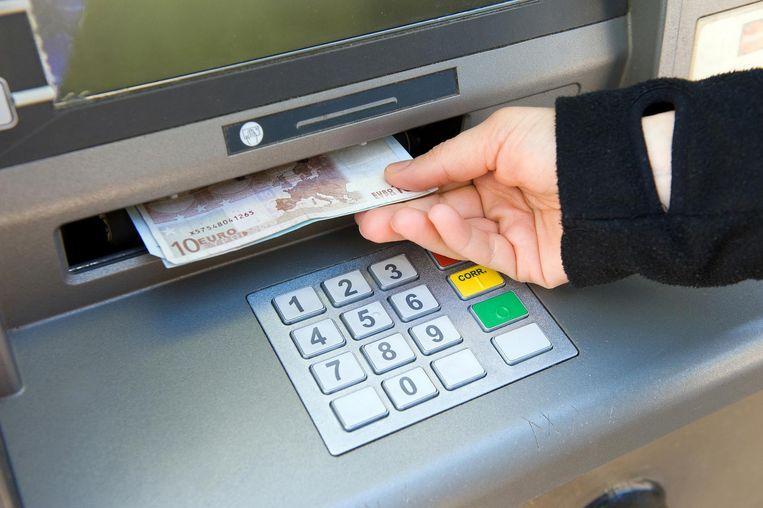geld afhalen bankautomaat