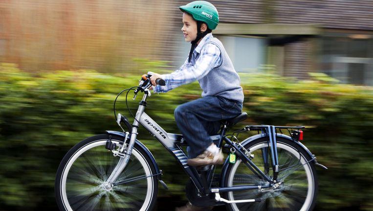TraumaNet AMC pleit voor verplicht dragen van de fietshelm. Beeld ANP XTRA