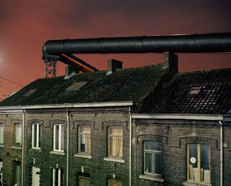 Dit is een van de foto's van Giovanni Troilo uit de fotoreeks 'La Ville Noir'.