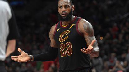 Uitstekende LeBron James kan Portland niet van elfde zege op rij houden