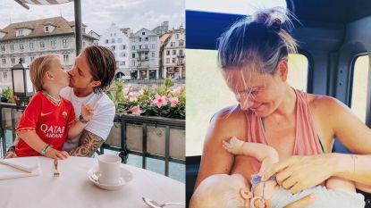 SHOWBITS. BV's steunen Week van de Borstvoeding en André Hazes geniet van qualitytime met zoontje