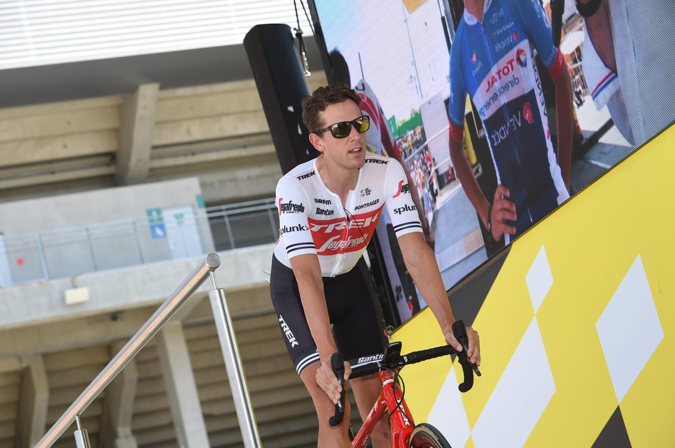 Koen de Kort tijdens de Tour de France.