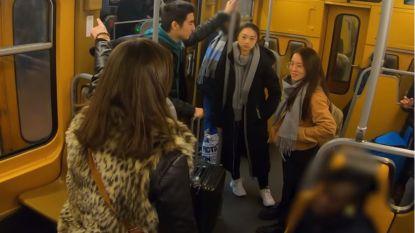 Chinezen worden vanwege coronavirus geviseerd in Brusselse metro: hoe zou u reageren?