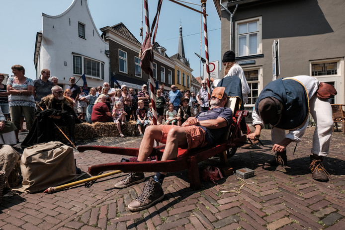 Hanzedag in Doesburg, in juni van dit jaar.