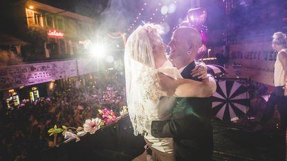 In het huwelijksbootje op de Gentse Feesten