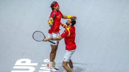 Spanje klopt Argentinië en bereikt halve finales Davis Cup