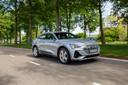 De Audi E-Tron Sportback is een elektrische suv-coupé met voortreffelijk comfort.
