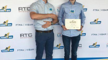 Kobe wint technologiewedstrijd TechnoVips