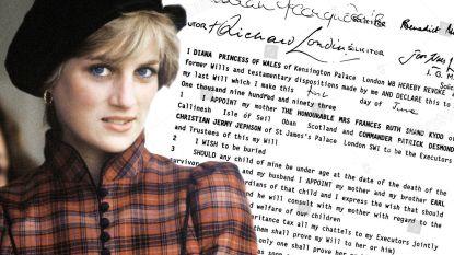 Testament van prinses Diana werd in alle stilte aangepast: deze bedragen ontvingen prins Harry en William écht