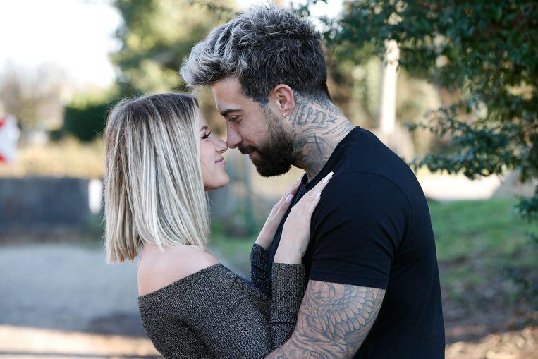 Fabrizio Tzinaridis en zijn nieuwe liefde Lotte.