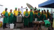 Storm aan zee zaterdag: groot paellafeest alvast afgelast