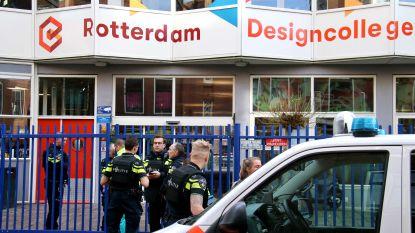 16-jarig meisje komt om bij schietpartij bij school in Rotterdam