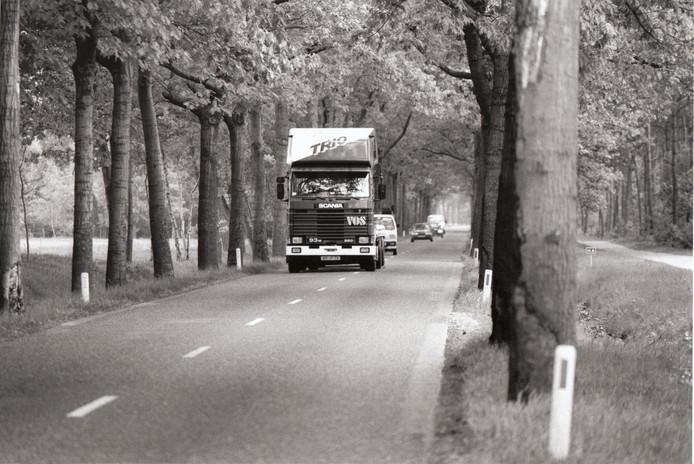 De Peeldijk tussen Gemert en Elsendorp was jaren één van de gevaarlijkste wegen van de provincie. Dikke bomen stonden pal aan de wegrand en vrachtwagens moesten regelmatig de andere weghelft gebruiken om onder de boomkruinen door de kunnen rijden. Inmiddels zijn de bomen gerooid en is de weg verbreed.