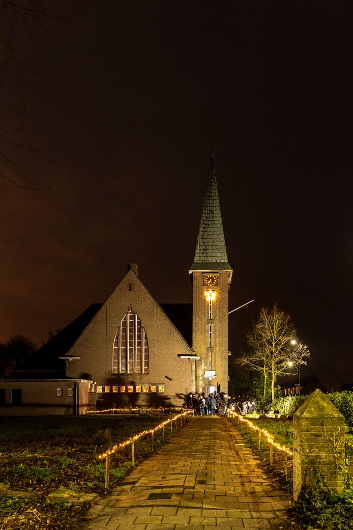 De toren van de Bathsewegkerk en  een deel van het kerkgebouw lijken gered voor de komende generaties.