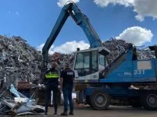 Honderden kilo's goud, auto's en wapens gevonden bij inval metaalrecyclingbedrijf in Venlo