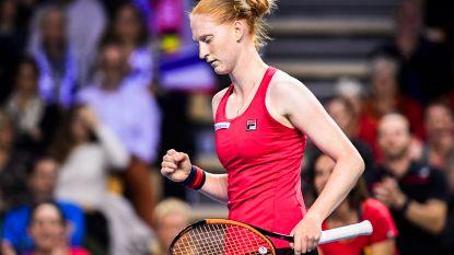 Alison Van Uytvanck vlakt uit (2-2): dubbel beslist over Fed Cupduel Frankrijk-België