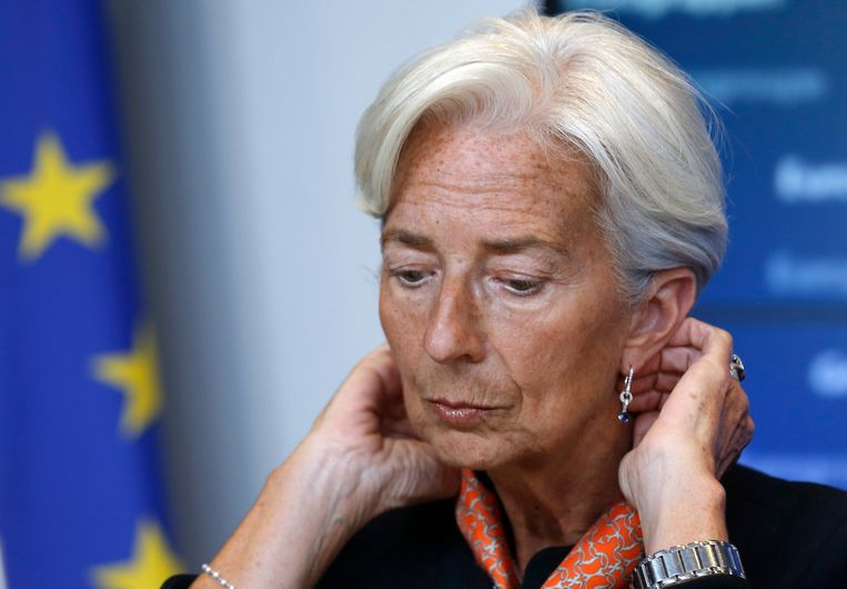 Christine Lagarde, IMF.