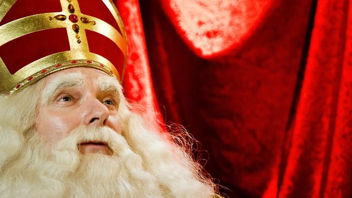 Sinterklaas tijdens de intocht dit jaar.