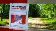 Verhoogd brandgevaar in alle Vlaamse provincies