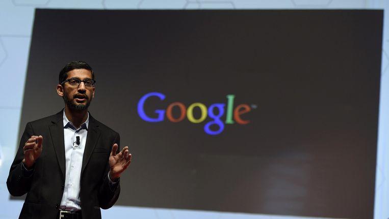 Sundar Pichai, de hoogste man van Google na topman Larry Page. Beeld ANP