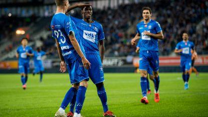 AA Gent blijft in het zog van de grote mensen, met dank aan Yaremchuk en David