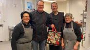 Slagerij Saerens krijgt dagje hulp van volksvertegenwoordiger Bothuyne