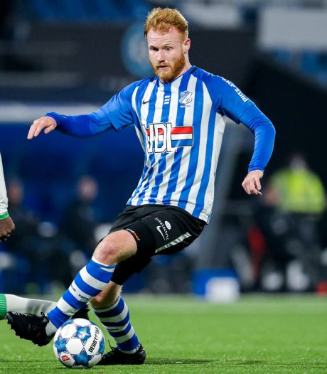 Van der Sande neemt FC Eindhoven bij de hand: 'Ben een speler waar je als team op kan bouwen'