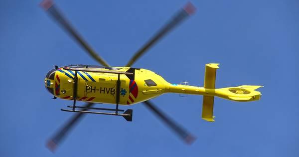 Traumahelikopter naar ongeval op A50 bij Nistelrode.