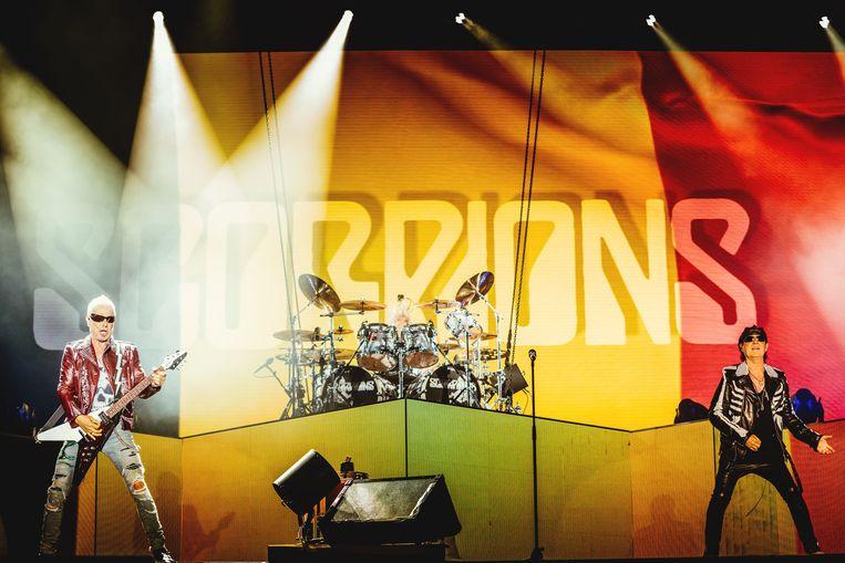 The Scorpions Beeld Stefaan Temmerman