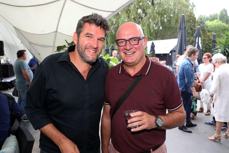 Roel Van der Stukken en Ludo Hellinx