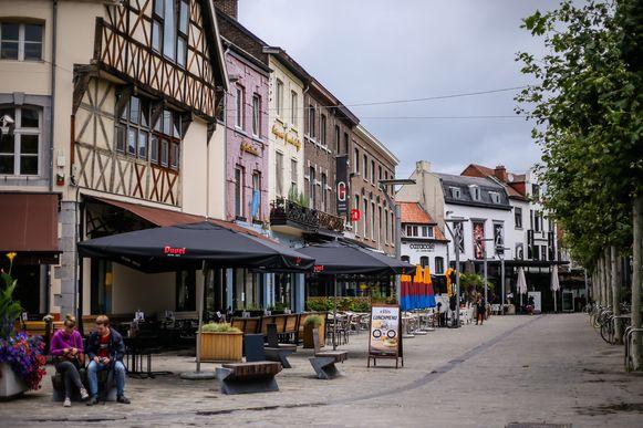 Sfeerbeelden marktplaatsen Hasselt De Zuivelmarkt