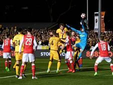 Sutton United kan niet stunten tegen Arsenal