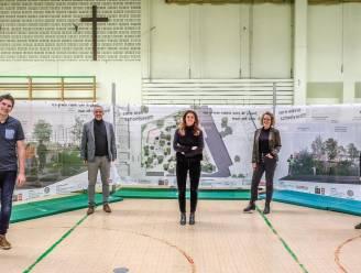 Sint-Amandsbasisschool Zuid maakt groen park van saaie asfaltspeelplaats, ook buurt mag park gebruiken