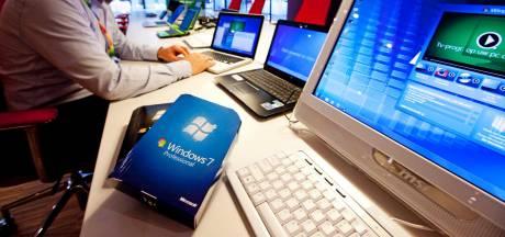 Kampen, Lelystad, Voorst en Zwolle werken nog met verouderde, risicovolle Windows 7