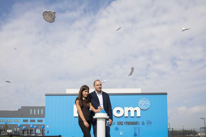 Bol.com opende vorige week zijn nieuwe distributiecentrum op Haven 8 in Waalwijk.