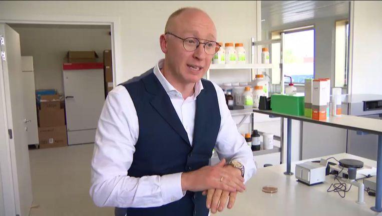 Oprichter Tom Verlinden.