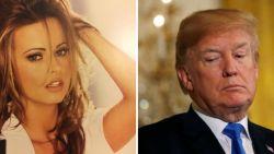 """Ex-Playmate: """"Trump en ik hadden tientallen keren onbeschermde seks. Na de eerste keer wilde hij me zelfs betalen"""""""