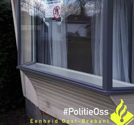 Drugspand in Heeswijk-Dinther gesloten.