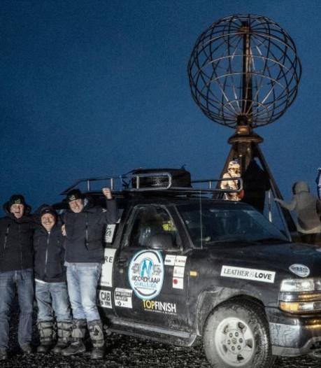 Team hospice Rosmalen heeft Noordkaap bereikt