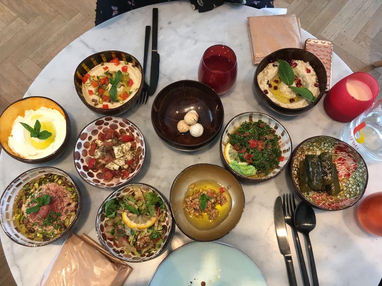 Beiruti, een resem aan gerechten in leuke potjes