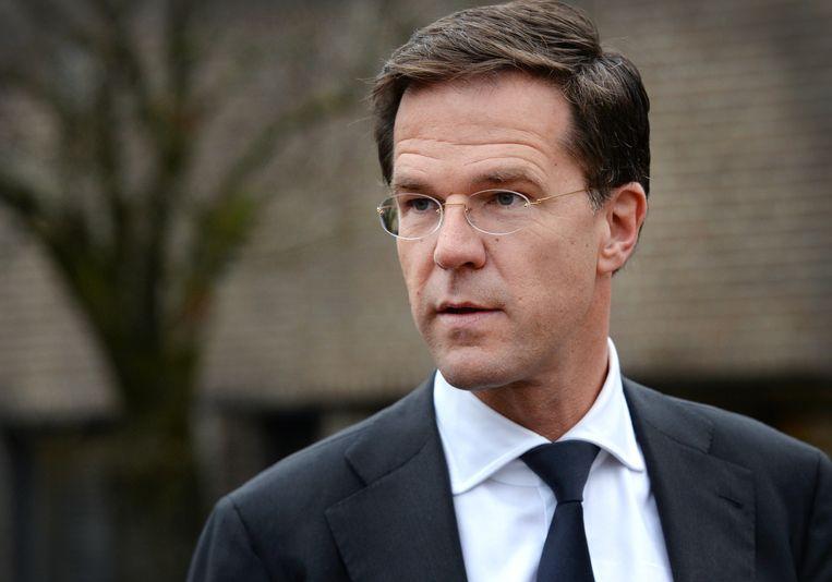 Premier Mark Rutte Beeld anp