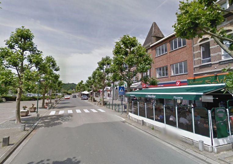 Het ongeval gebeurde in het centrum van Esneux, in de provincie Luik.
