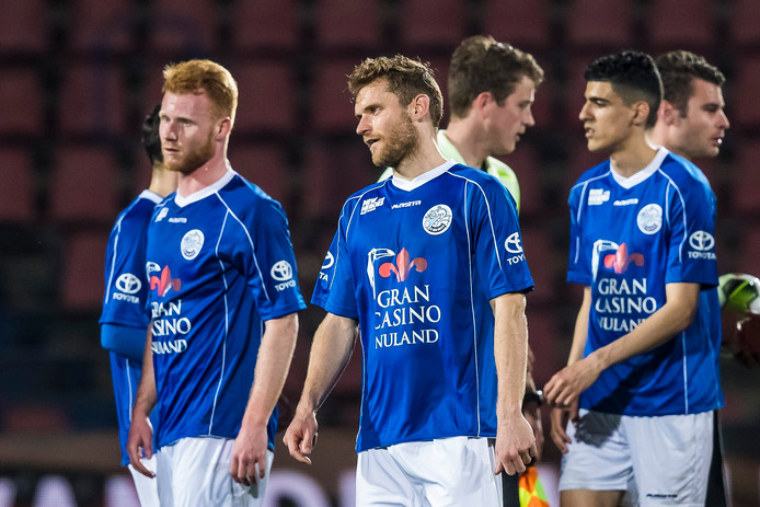 Teleurgestelde gezichten bij FC Den Bosch