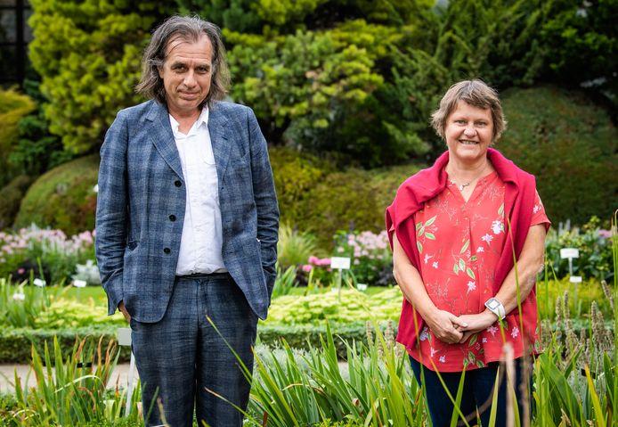 Psychiater Dirk De Wachter en onderzoekster Ann Dierick.