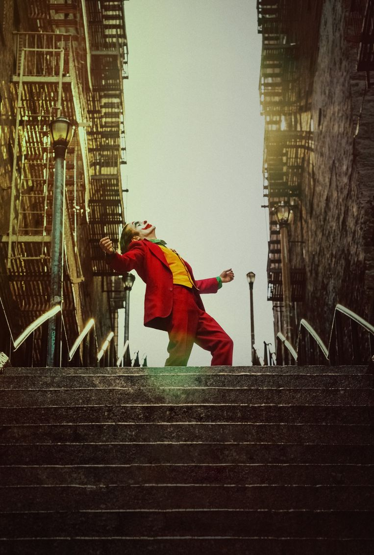 Joaquin Phoenix in 'Joker'  Beeld Photo News
